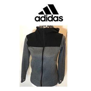 Adidas Zip Up Hoodie women's Small